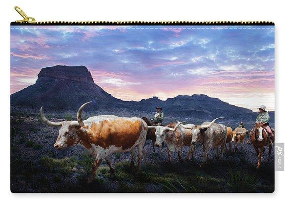 Texas Longhorns Blue Carry-all Pouch