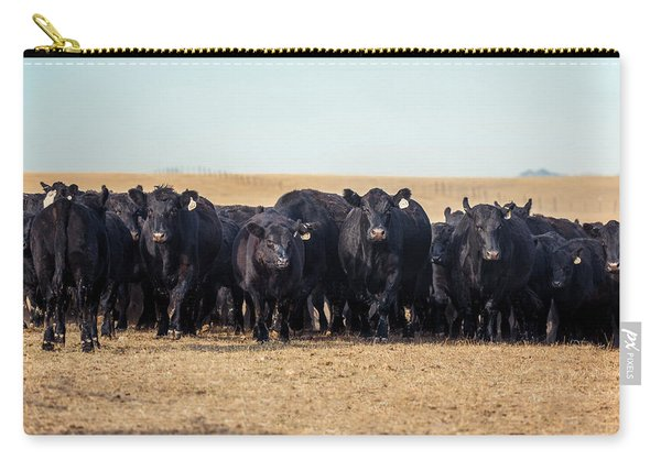 The Herd Rushes In Carry-all Pouch