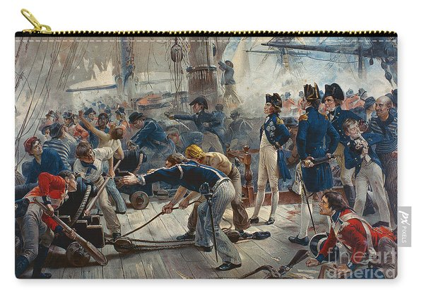 The Hero Of Trafalgar Carry-all Pouch