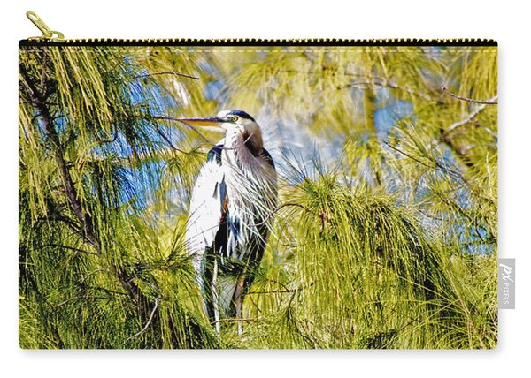 The Heron's Whiskers Carry-all Pouch
