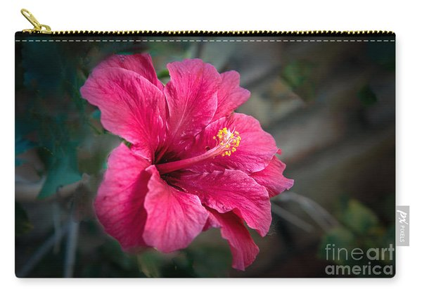 The Hibiscus Carry-all Pouch