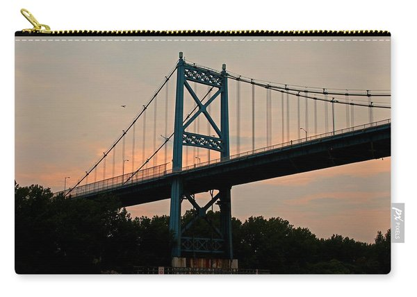 The High Level Aka Anthony Wayne Bridge I Carry-all Pouch