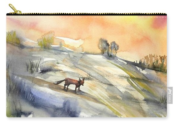 The Hill Of The Foxes Carry-all Pouch