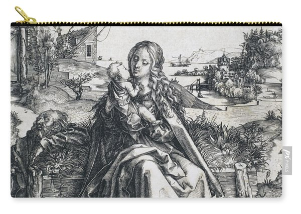 The Holy Family With The Mayfly Carry-all Pouch