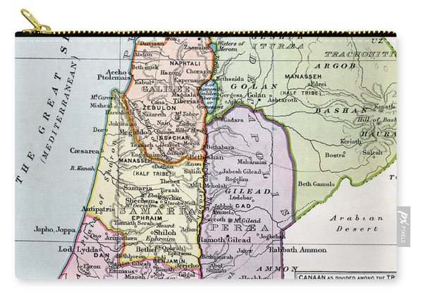 The Holy Land In Biblical Times Carry-all Pouch