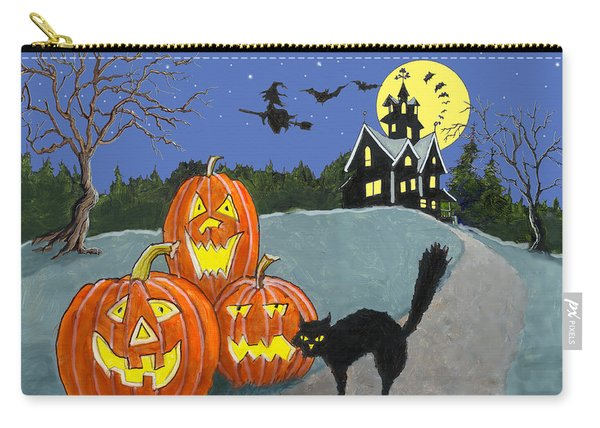 The House On Cemetery Hill Carry-all Pouch