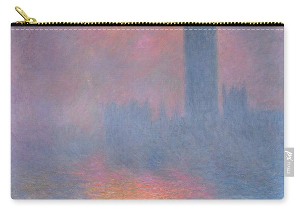 The Houses Of Parliament London Carry-all Pouch