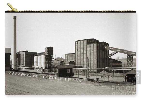 The Huber Colliery Ashley Pennsylvania 1953 Carry-all Pouch