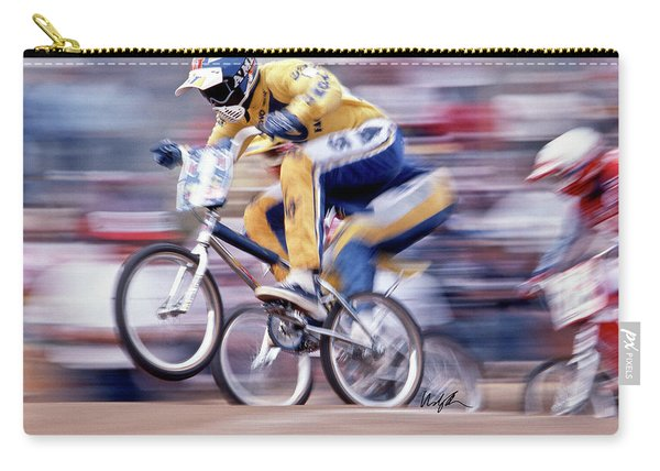 The Human Dragster, Tommy Brackens 1985 Carry-all Pouch