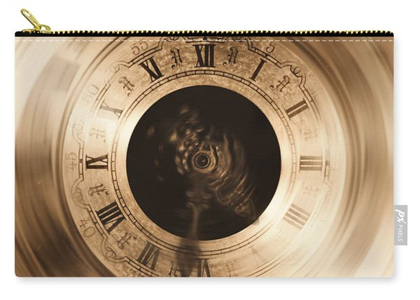 The Illusion Of Time Carry-all Pouch