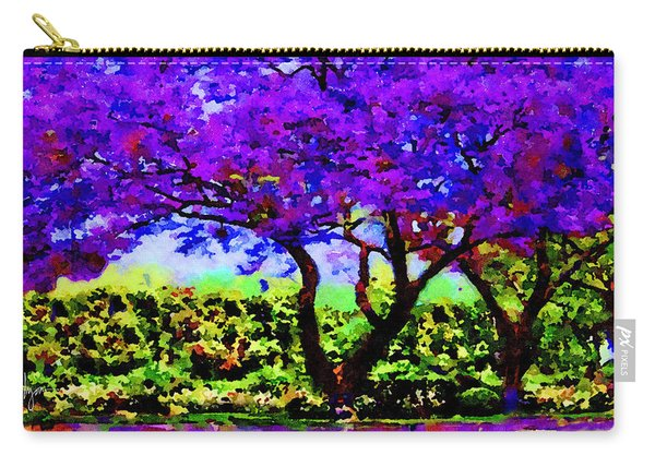 The Jacaranda Carry-all Pouch
