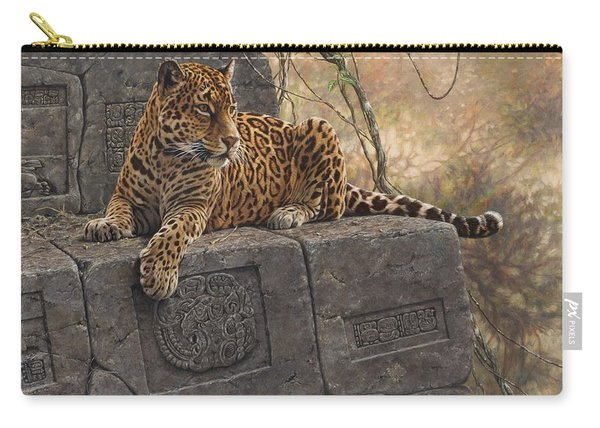 The Jaguar King Carry-all Pouch