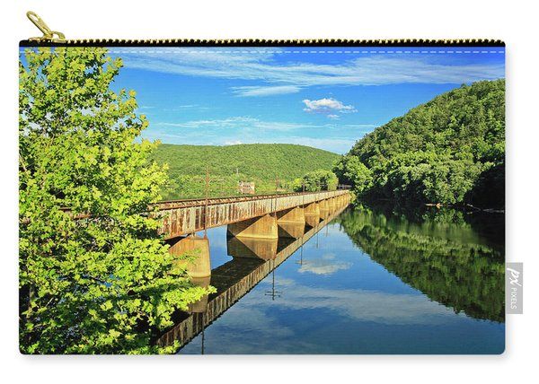 The James River Trestle Bridge, Va Carry-all Pouch