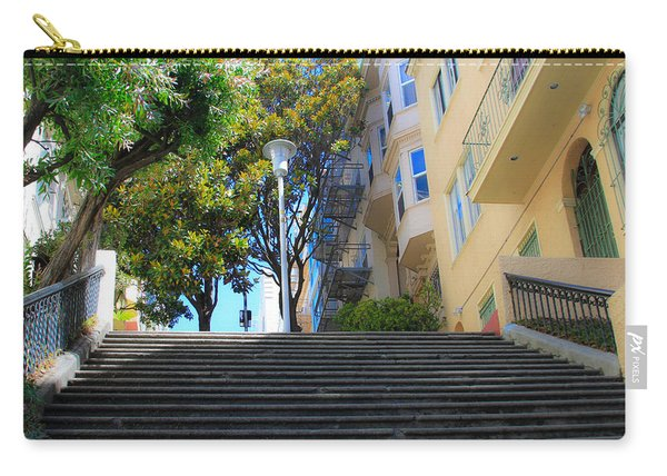 The Joice Street Steps Carry-all Pouch