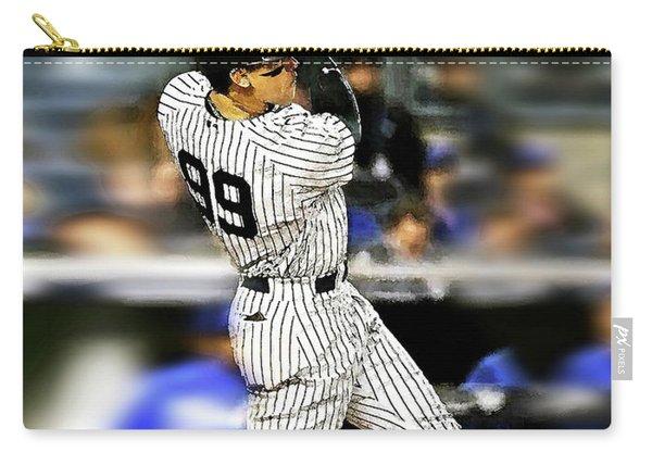 The Judge, Aaron Judge, Number 99, New York Yankees Carry-all Pouch