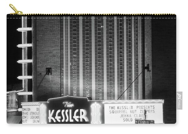 The Kessler V2 091516 Bw Carry-all Pouch