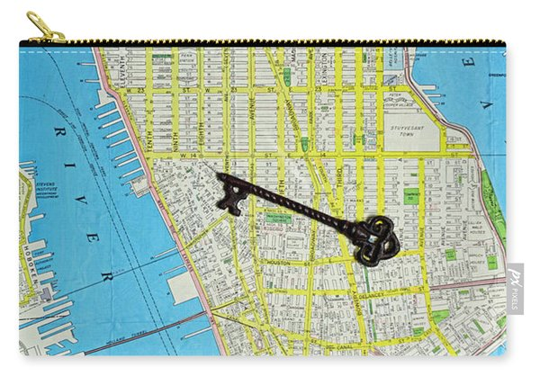 The Key To The City Carry-all Pouch