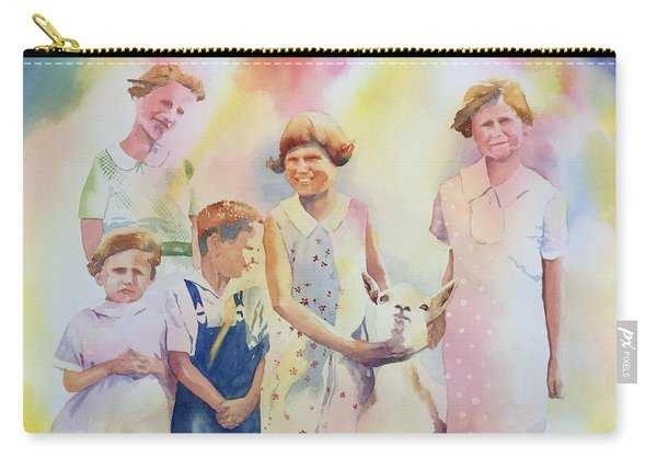 The Kids And The Kid Carry-all Pouch