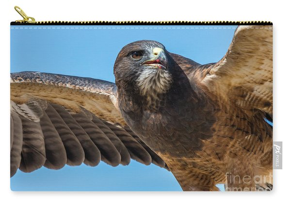 The Kill Wildlife Art By Kaylyn Franks Carry-all Pouch