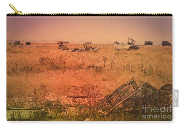 The Landscape Of Dungeness Beach, England 2 Carry-all Pouch