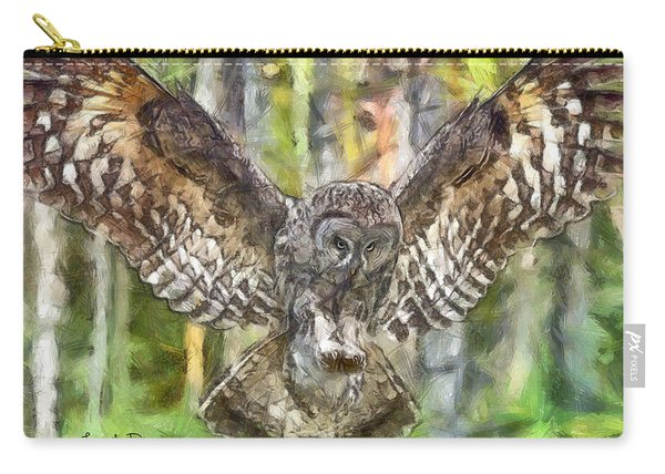 The Largest Owl Carry-all Pouch