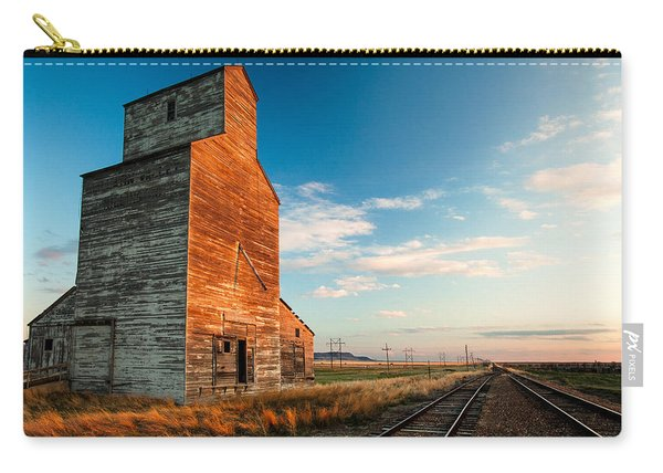 The Last Light At Laredo Carry-all Pouch