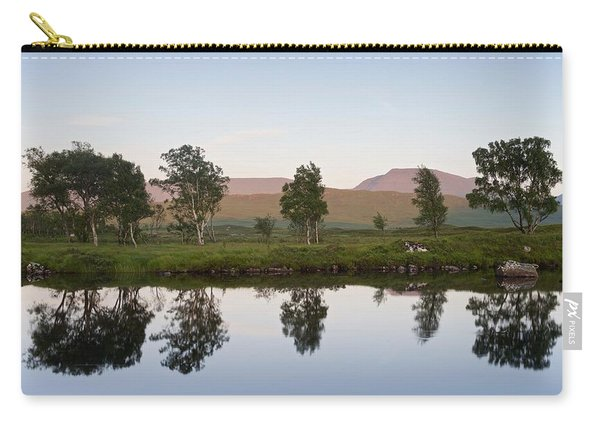 The Last Light At Loch Ba Carry-all Pouch