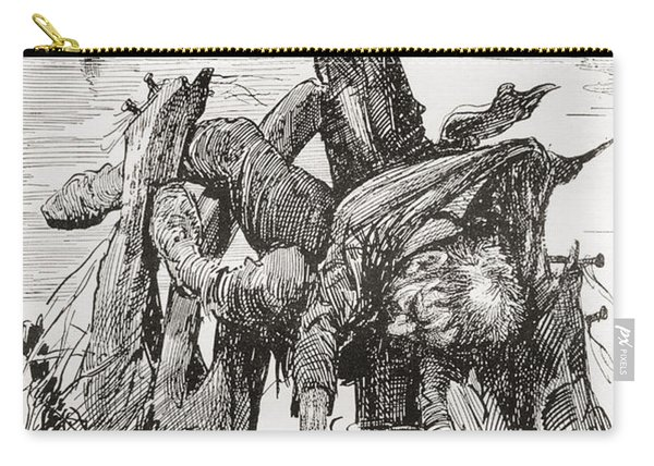 The Last Of Quilp. Illustration Carry-all Pouch