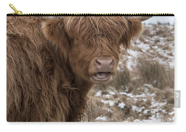 The Laughing Cow, Scottish Version Carry-all Pouch