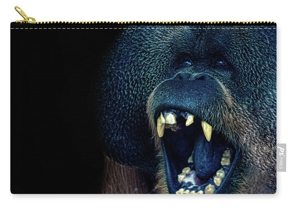 The Laughing Orangutan Carry-all Pouch