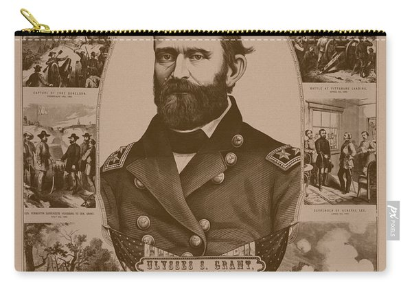 The Leader And His Battles - General Grant Carry-all Pouch
