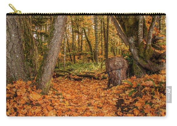 The Leaves Have Fallen Carry-all Pouch