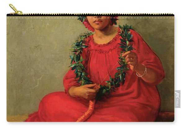 The Lei Maker Carry-all Pouch