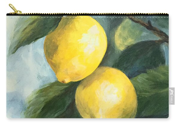 The Lemon Tree Carry-all Pouch