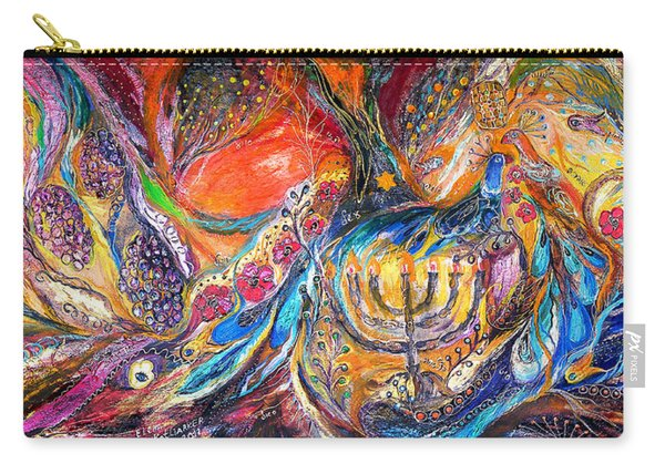 The Light Of Menorah Carry-all Pouch