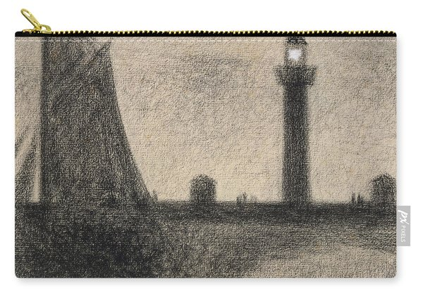 The Lighthouse At Honfleur Carry-all Pouch