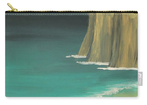 The Lighthouse On The Cliff Carry-all Pouch