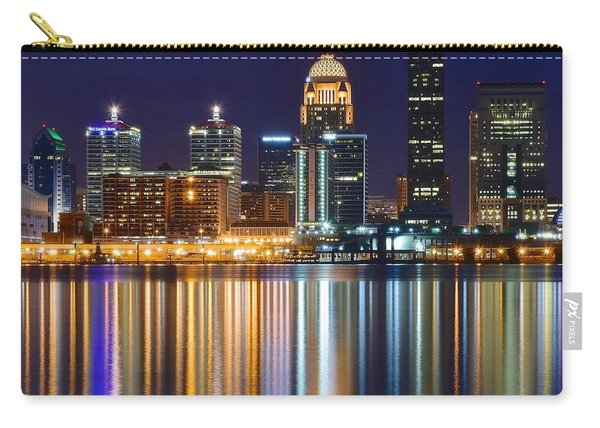 The Lights Of A Louisville Night Carry-all Pouch