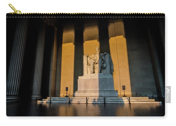 The Lincoln Memorial At Sunrise Carry-all Pouch