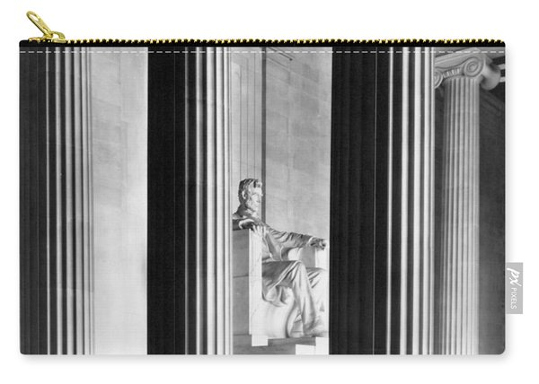 The Lincoln Memorial Carry-all Pouch