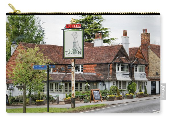 Carry-all Pouch featuring the photograph The Links Tavern by Michael Hope