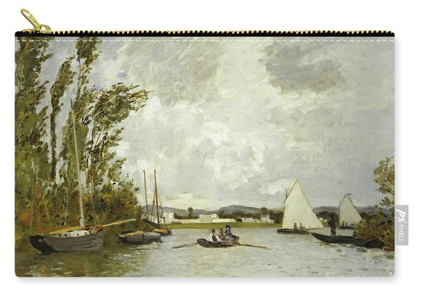 The Little Branch Of The Seine At Argenteuil Carry-all Pouch