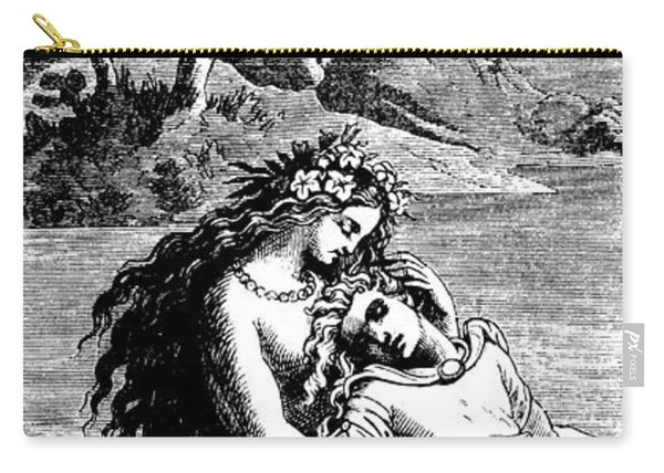 The Little Mermaid And The Prince Carry-all Pouch