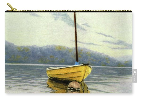 The Yellow Sailboat Carry-all Pouch