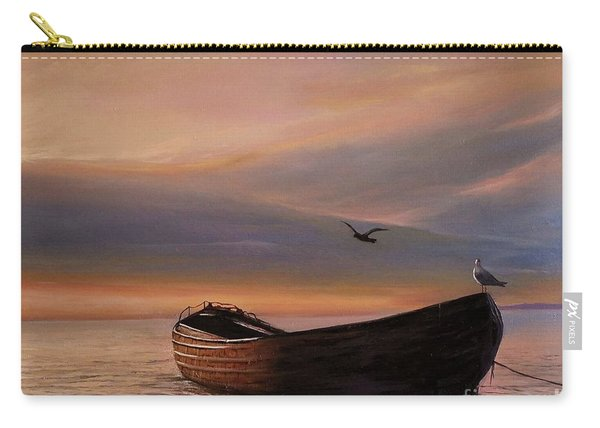 A Lone Boat Carry-all Pouch