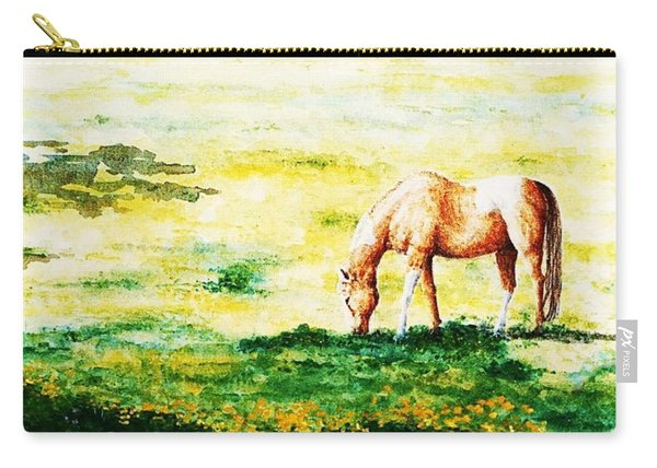 The Lone Horse Carry-all Pouch