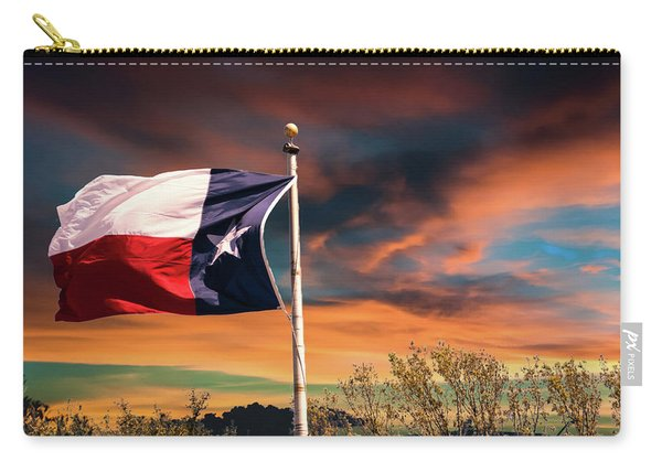 The Lone Star Flag Carry-all Pouch