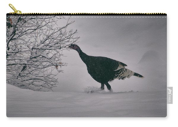 Carry-all Pouch featuring the photograph The Lone Turkey by Jason Coward