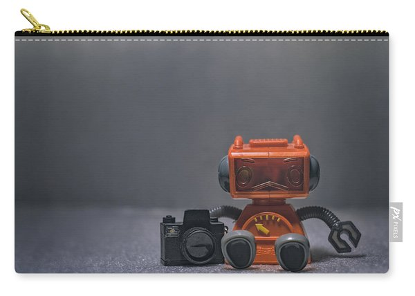 The Lonely Robot Photographer Carry-all Pouch