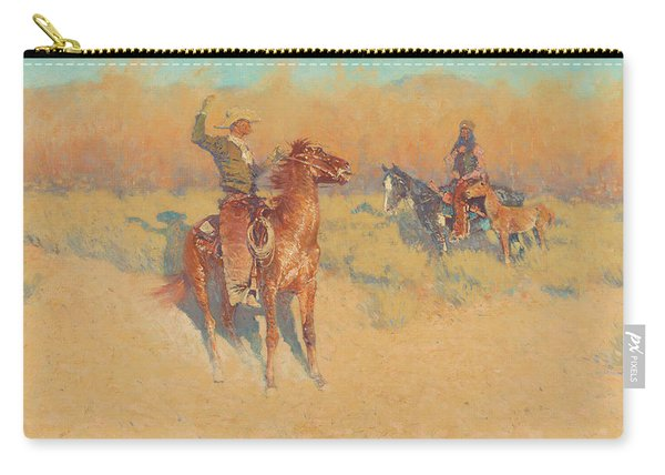 The Long-horn Cattle Sign Carry-all Pouch
